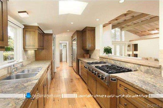 دکوراسیون رومی آشپزخانه / عکس