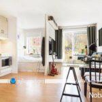 طراحی دکوراسیون داخلی خانه کوچک 30 متری به شکل ساده
