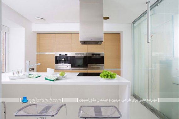طراحی دکوراسیون شیک خانه با رنگ سفید