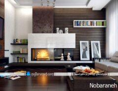طراحی دکوراسیون شیک و مدرن اتاق پذیرایی