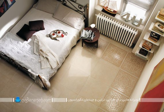 سرامیک فانتزی اتاق خواب / عکس