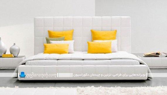 سرویس خواب مدرن سفید رنگ