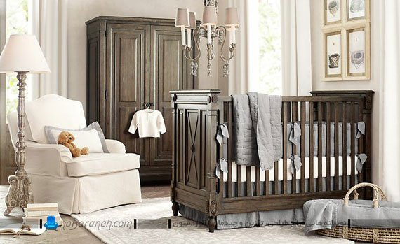 سیسمونی و سرویس خواب دخترانه نوزاد