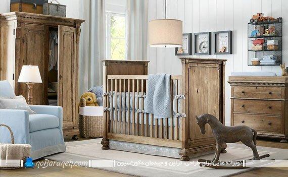 مدل مبلمان و سیسمونی اتاق خواب کودک نوزاد