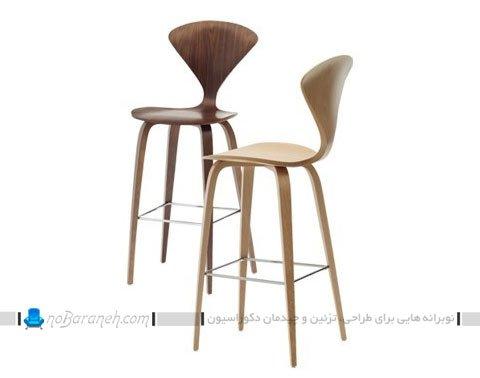 صندلی اپن و بار آشپزخانه فانتزی / عکس