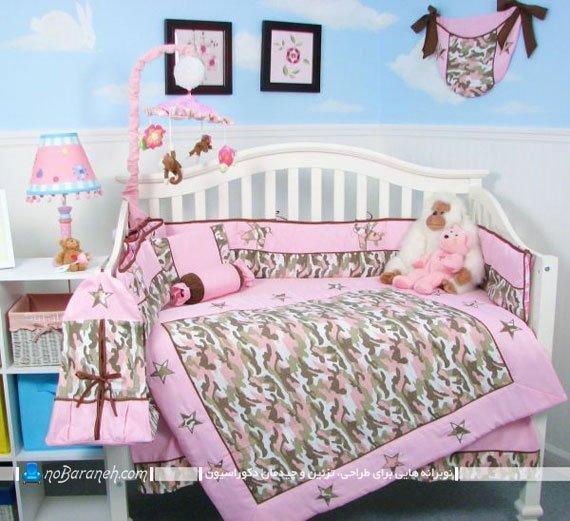 دیزاین اتاق نوزاد دختر / عکس