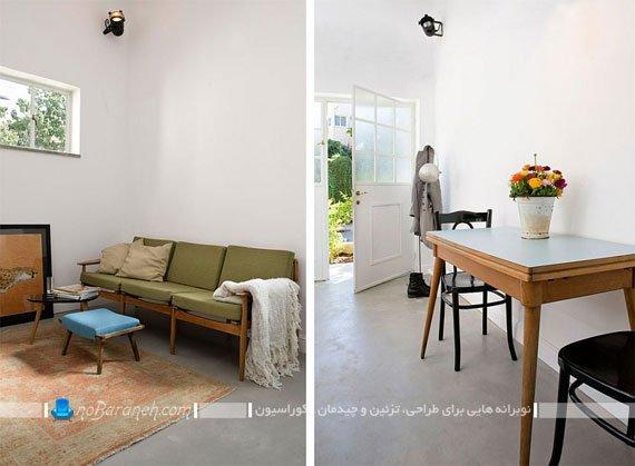 تغییر کاربری فضای فروشگاهی به خانه مسکونی