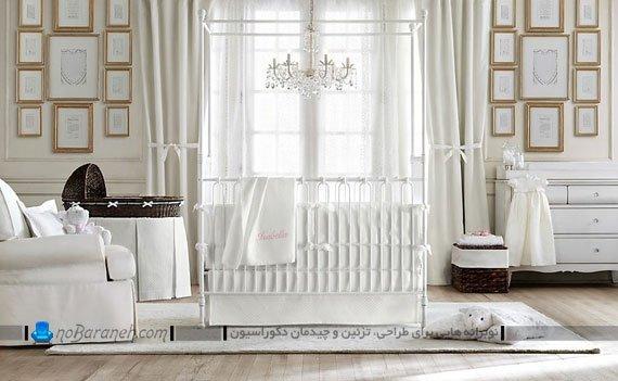 مدل های متنوع ، شیک و زیبا سیسمونی اتاق نوزاد