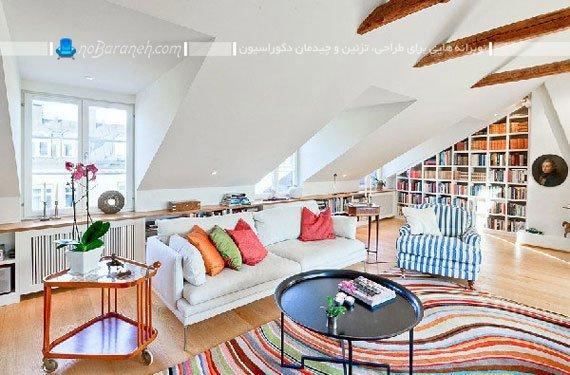 فرش ماشینی با طرح و رنگ بندی مدرن