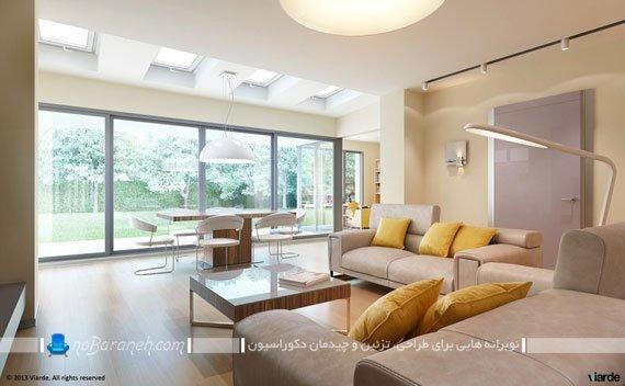 چیدمان اتاق پذیرایی مناسب خانه ایرانی / عکس