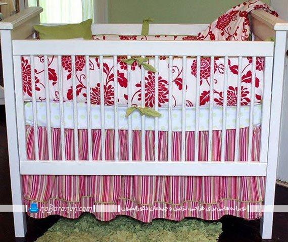 تخت خواب فانتزی نوزاد دختر / عکس
