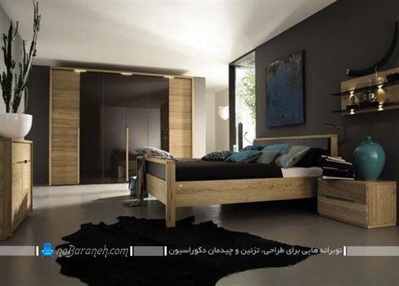 سرویس خواب های چوبی مدرن / عکس