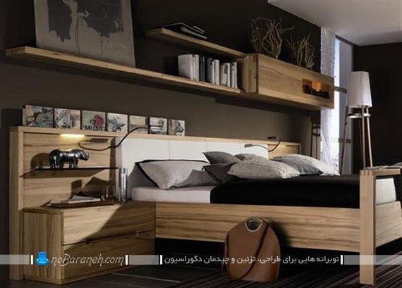 سرویس خواب چوبی اتاق عروس