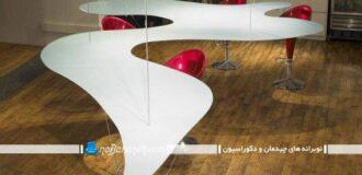 مدل میز نهارخوری با طراحی غیر عادی و فانتزی