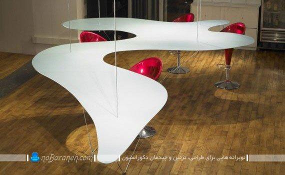 میز و صندلی ناهارخوری با طرح و مدلهای جدید و فانتزی