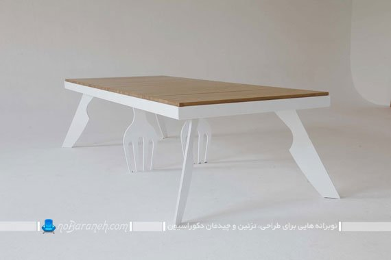 میز ناهارخوری فانتزی / عکس