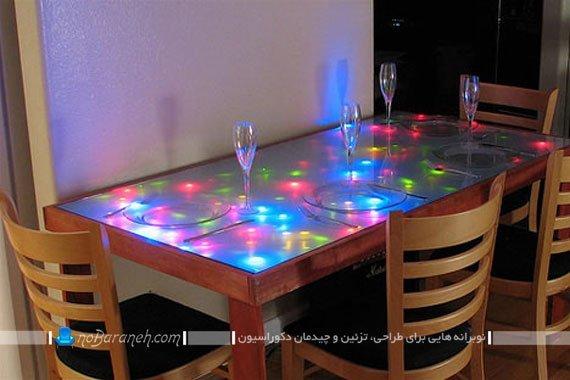 میز ناهارخوری نوپردازی شده / عکس