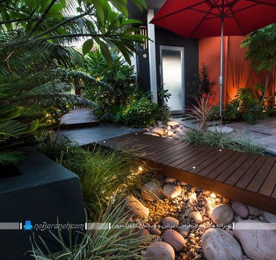 ایده تزیین حیاط و فضای باز خانه