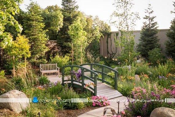 خلاقیت در تزیین فضای باز و حیاط خانه