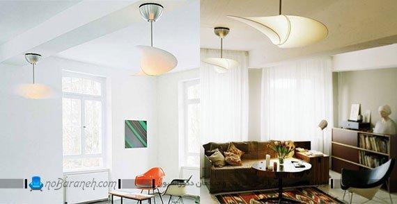 مدل پنکه سقفی با لوستر فانتزی