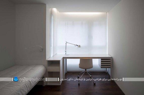 چراغ مطالعه رومیزی پایه بلند مهندسی
