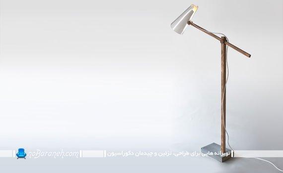 طرح ساده و ارزان چراغ مطالعه رومیزی
