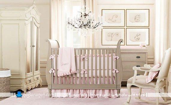 مبلمان سلطنتی اتاق کودک دختر