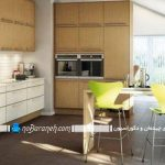 مدلهای طراحی دکوراسیون داخلی آشپزخانه اپن و بسته سنتی