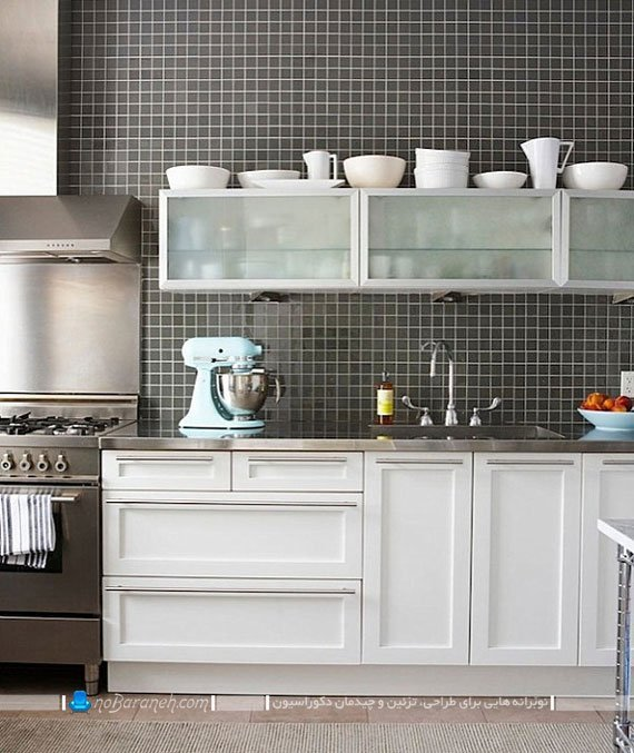 صفحه استیل برای کابینت آشپزخانه