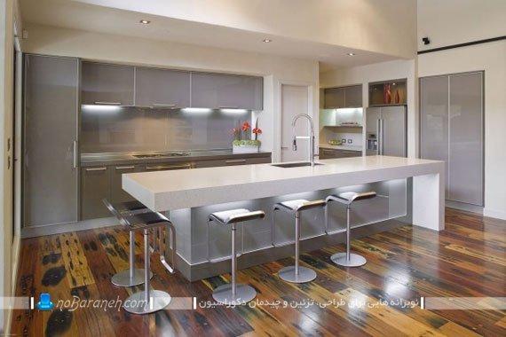 مدل نور مخفی کابینت آشپزخانه / عکس