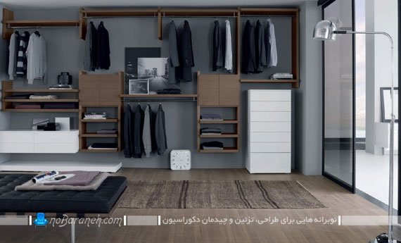 مدل کمد لباس اتاق خواب / عکس