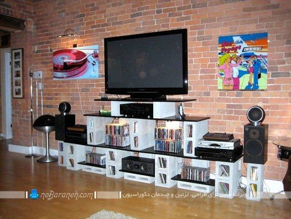 ساخت میز تلویزیون / عکس