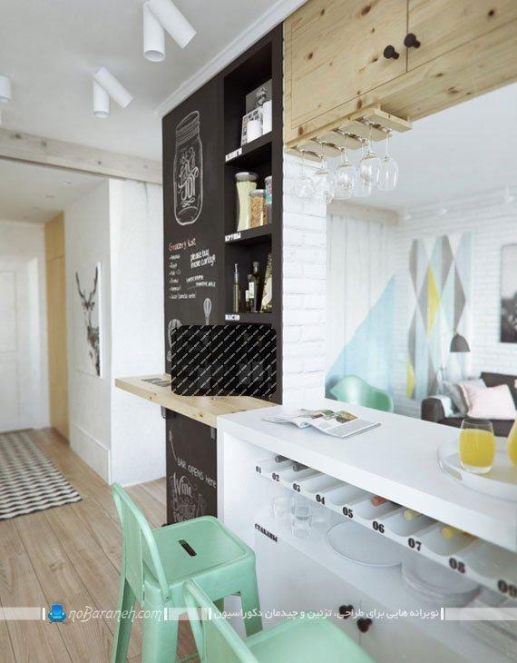 دیزاین و دکوراسیون خانه 45 متری