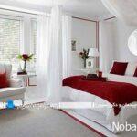 طراحی و تزیین دکوراسیون رمانتیک در اتاق خواب عروس