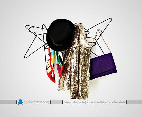 رخت آویز دیوارکوب لباس