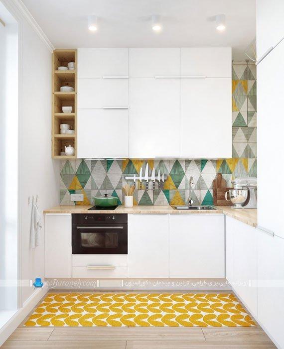 مدل کابینت آشپزخانه کوچک
