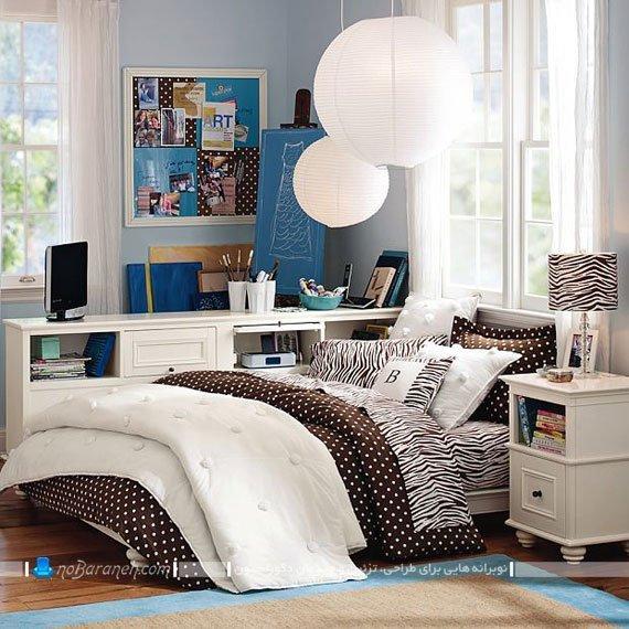 سرویس خواب دخترانه جادار برای اتاق نوجوانان