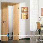 درب داخلی آپارتمان، کدام مناسب است شیشه خور یا تمام چوب
