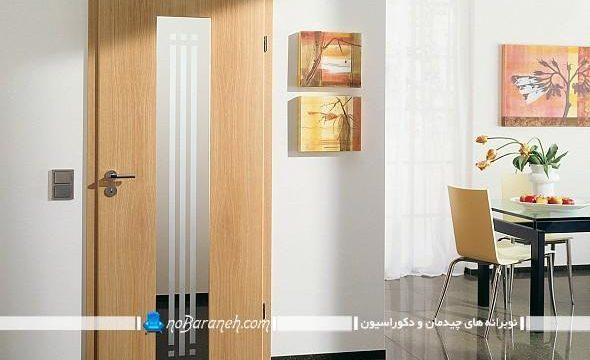 درب چوبی دکوراسیون داخلی