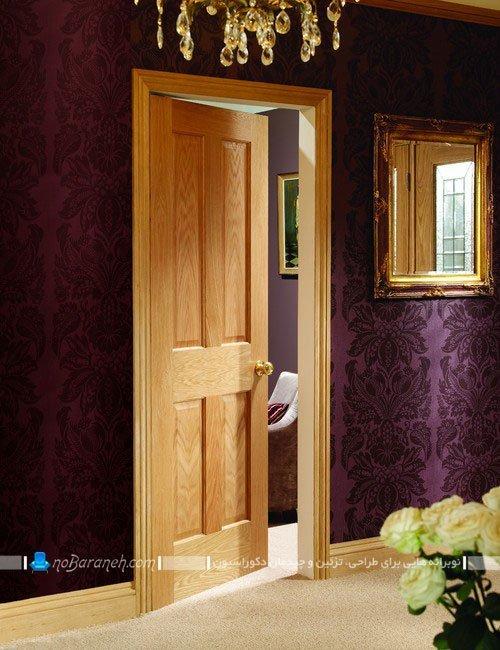 درب چوبی با مدلهای جدید برای دکوراسیون داخلی خانه
