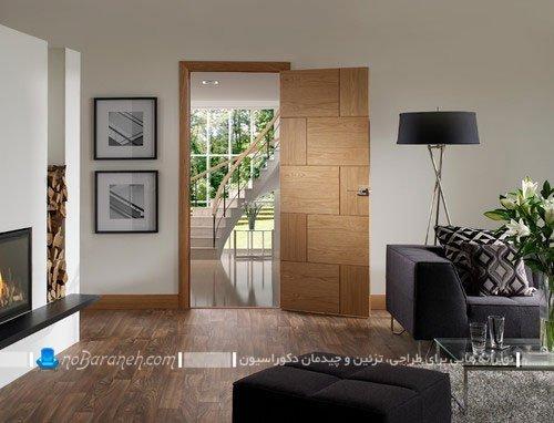 درب های چوبی با طرح و مدل شیک و زیبا