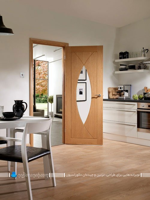 مدل های جدید در شیشه ای، چوبی و مدرن آشپزخانه