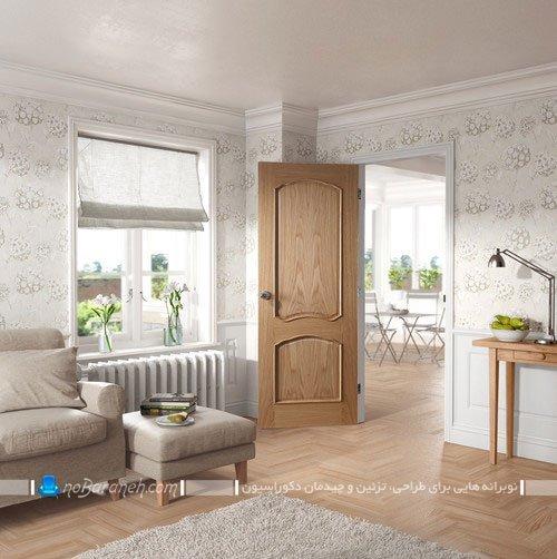درب چوبی داخلی آپارتمان