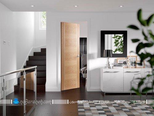 درب داخلی چوبی و مدرن