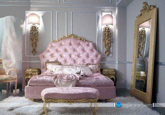 سرویس خواب سلطنتی عروس صورتی