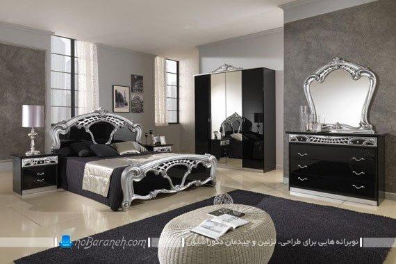 نمای داخلی و مبلمان اتاق خواب های لوکس و مجلل