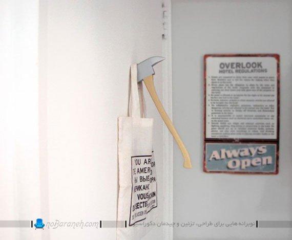 رخت آویز دیواری فانتزی