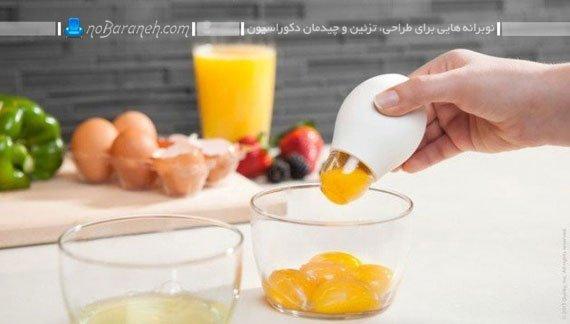 زرده گیر تخم مرغ