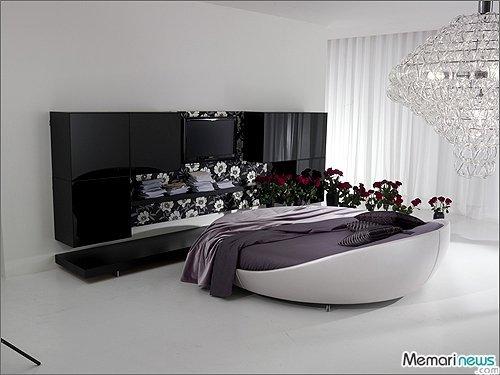 طراحی و تزیین دکوراسیون رمانتیک اتاق خواب عروس