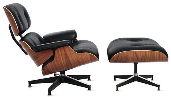 صندلی راحتی اداری، چرمی و چوبی